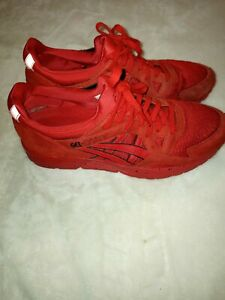 ASICS GEL-Lyte V  Red - Mens - Size 11 D Running Shoes Sneakers H60SQ