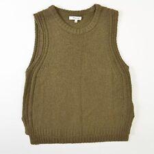 Madewell Sweater Vest Merino Wool Alpaca Nylon Green Womens Small S