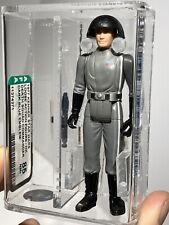 AFA 85 Star Wars 1977 Loose Death Squad Commander Blue Emblem Kenner First 12