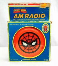 "1984 Marvel Comics ""Secret Wars"" Spider-Man AM Radio"