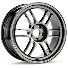 15x8 Enkei RPF1 4x100 + 28 Chrome Wheels (Set of 4)
