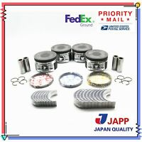 JAPP PR220 .020 Piston Ring Set for 1990-1999 Toyota Celica Camry MR2 2.2L DOHC 5SFE