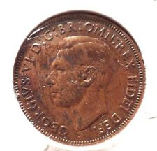 CIRCULATED 1949 1/2 PENNY UK COIN! (#41615)