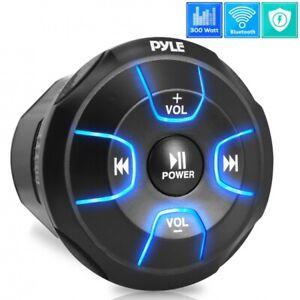 Pyle PLMRBT18 Amplified Wireless BT Audio Controller, Waterproof Marine Receiver