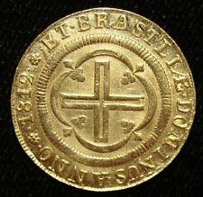 Brasilien: João Prince Regent Gold 4000 Reis 1812- (R) . Rio De Janeiro Mint