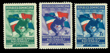 DOMINICAN REPUBLIC 1937 1st National OLYMPIC GAMES set  Scott# 326-328 mint MH