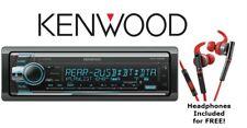 Kenwood eXcelon KDC-X502 CD Receiver with Bluetooth + KH-SR800R Sport Headphones