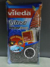 Vileda Glitzi Power Inox Stahlschwamm für hartnäckigen Schmutz (2 er Pack)