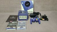 Nintendo Gamecube NGC Console Purple Korean Version Original Box Set Ultra Rare