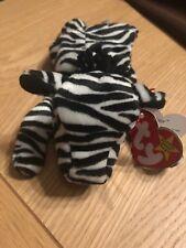 Ty Beanie Baby Ziggy the Zebra