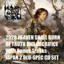 2020 HEAVEN SHALL BURN OF TRUTH AND SACRIFICE W/ Bonus Track BLU-SPEC CD Album
