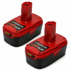 2 Pack 19.2V 4.0Ah Li-Ion Replacement Battery for Craftsman C3 130211004 11375