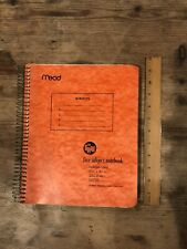 Vtg Mead The Spriral Five 5 Subject Notebook 250 Sheets