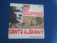 "7"" disco 45 giri Santo & Johnny - Agente 007 Theme from Goldfinger"