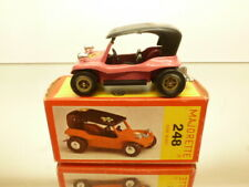 MAJORETTE 248 DUNE BUGGY - PINK 1:55 - VERY GOOD CONDITION IN BOX