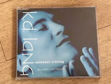 RARE KD LANG CONSTANT CRAVING CD SNGLE K D LANG