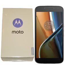 BNIB Motorola Moto G4 16GB XT1622 Single-SIM Black Factory Unlocked 4G/LTE GSM