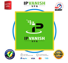 IPVanish VPN Premuim Account 🔥 Lifetime Warranty & AUTO RENEWAL✔️⭐NOT SHARED VP