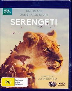 BBC Earth Serengeti Blu-ray NEW Region B