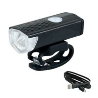 USB Rechargeable Bike Front Light Bicycle Headlight Bycicle Handlebar Lamp 3Mode