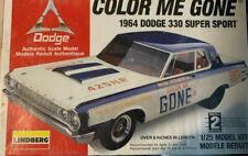 1964 64 Dodge 330 Color Me Gone Lindberg 1/25 New & Sealed! *Excellent* drag