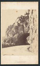 CDV c. 1870 - La Roche du Diable Vosges - T217