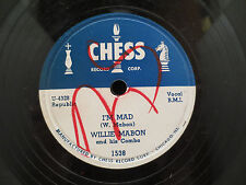 Willie Mabon - I'm Mad/Night Watch on Chess Records U 4329 78RPM