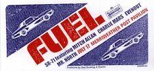 Fuel Sr-71 Merriweather Post '04 Concert Poster Signed