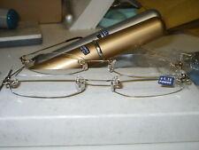 Tubo Gafas de lectura oro 2.25
