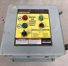 PoweRamp Loading Dock Control Panel System 115 VAC W Hoffman Enclosure BF-589259