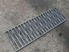 Trench Stormwater Drain Grate Galvanised Gal -Extra HD 10mmFW 305x32 -per lin-m