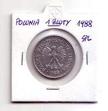 Polonia Polska   1 zloty  1988    SPL    (m96)