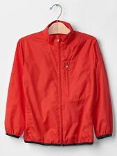 GAP BOYS RED PACKABLE RIPSTOP WINDBREAKER WINDBUSTER $39.95 SIZE SMALL 4-5 BNWT