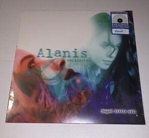 Alanis Morissette Jagged Little Pill CRYSTAL CLEAR COLOR Vinyl LP