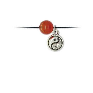 Bracelet de Vie Cornaline – Yin Yang