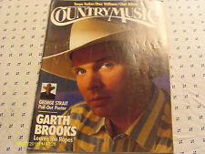 Garth Brooks Covers Country Music Magazine 1991 Chet Atkins Tanya Tucker