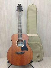 "Caraya 37"" All Mahogany Traveler Acoustic Guitar,EQ+Free Padded Bag P304111EQ"