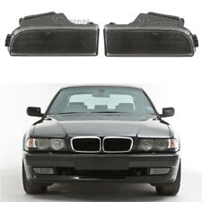 For BMW E38 7-Series 95-01 740i 750iL Front Bumper Fog Light Lamps Clear Lens