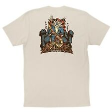 Santa Cruz Jason Jessee Vintage Neptune T Shirt Natural Xl
