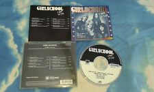 GIRLSCHOOL - C'MON LET'S GO (1991) RARE ALBUM on CD ; 8 Track EUROPE CD