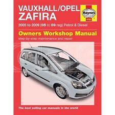 buy zafira car manuals and literature ebay rh ebay co uk Cartoon Manual Ford Owner's Manual