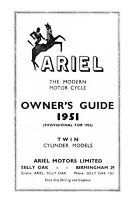 (0135) 1951-1952 Ariel Twin KG & KH owners guide