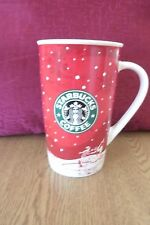 Starbucks 16oz Tall Coffee Mug - Holiday 2007  . FREE UK P+P ...................