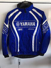 YAMAHA JACKET - YX COMPETITION - BLUE SNOWMOBILE ATV DIRT BIKE Size: XS