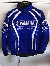 YAMAHA JACKET - YX COMPETITION - BLUE SNOWMOBILE ATV DIRT BIKE Size: XS  XL