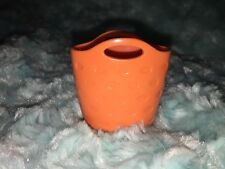 New Fisher Price Loving Family Dollhouse Orange Clothes Laundry Washing Basket