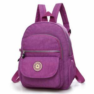 Girl Nylon Mini Backpack Purse Women Small Backpack Shoulder Rucksack Travel Bag