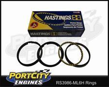 Hastings Moly Piston Ring Set Ford Falcon 6cyl EB AU 4.0L 04/92-10/02 RS3986