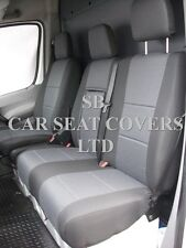 TO FIT A MERCEDES SPRINTER VAN 2011, SEAT COVERS,ROSSINI JAQUARD CLOTH FABRIC