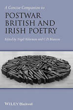 A Concise Companion to POSTWAR BRITISH AND IRISH POETRY, 1st ed, Hardback, NEW